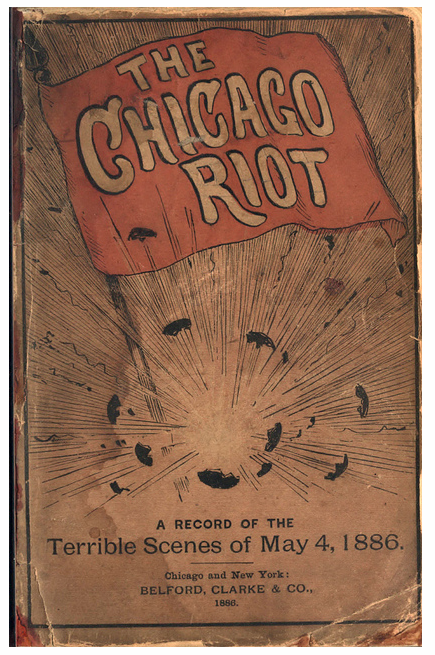"""The Chicago Riot"" 1886"