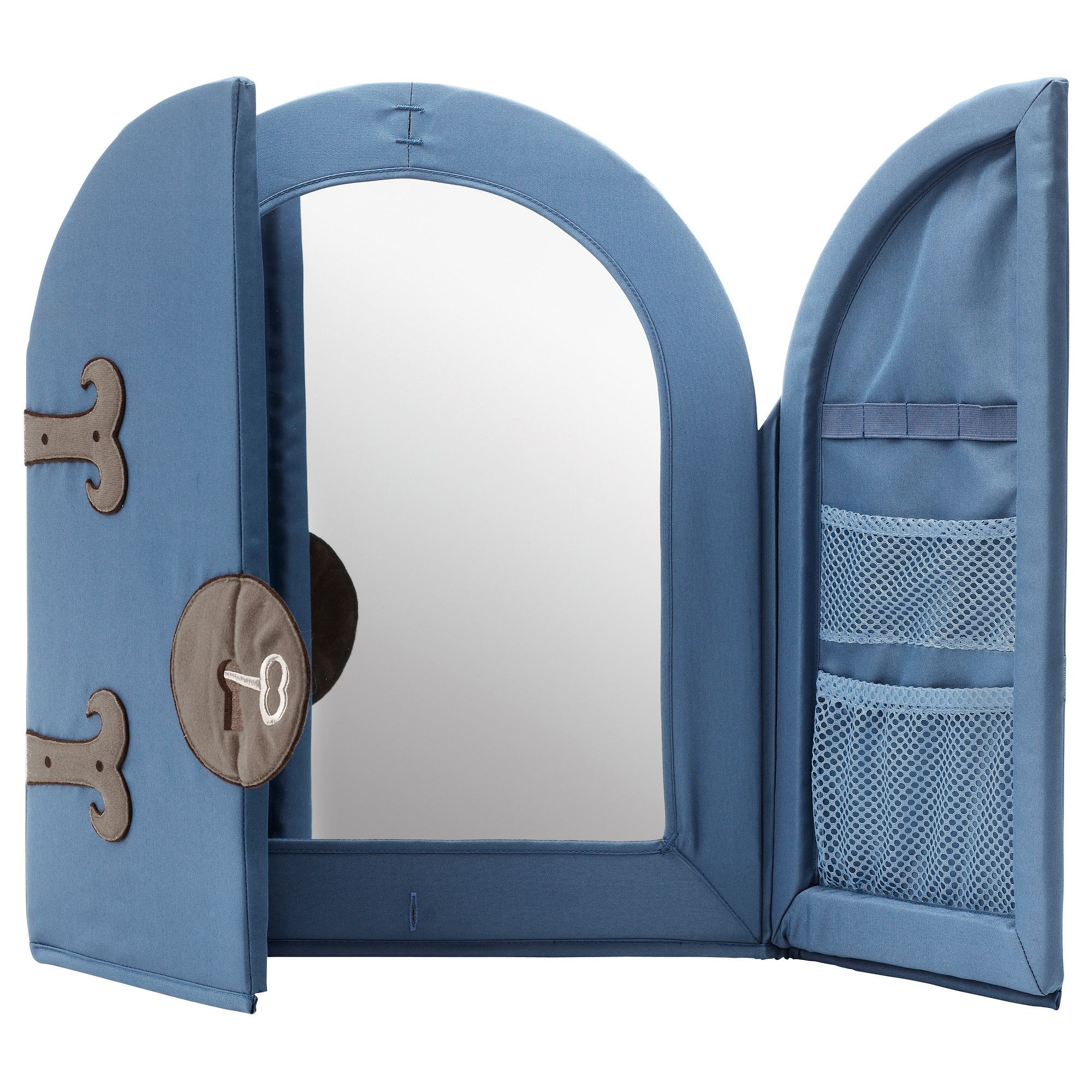 so cute for a little boy's room with a castle theme ! PYSSLINGAR Mirror -  IKEA