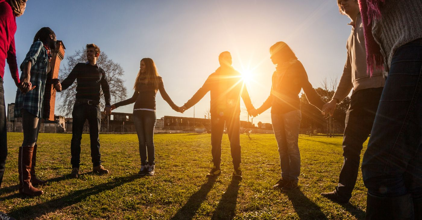 How To Get Youth Involved In The Larger Life Of The Church Ministry To Youth People Holding Hands Peer Multiracial