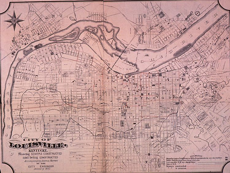 Historical Maps of Louisville KY | City of Louisville ...