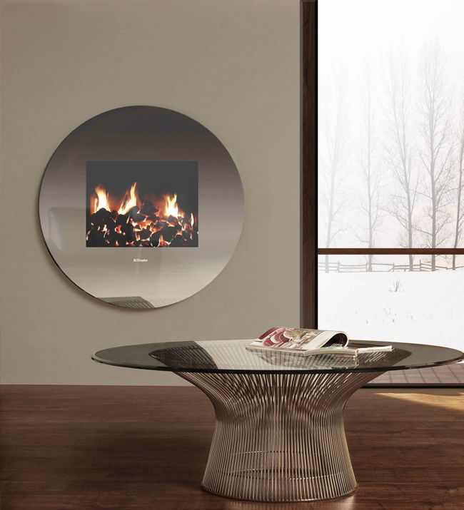 Living Art Mirror Electric Fire From Dimplex Wall Mounted Electric Fires Fireplace Electric Fires
