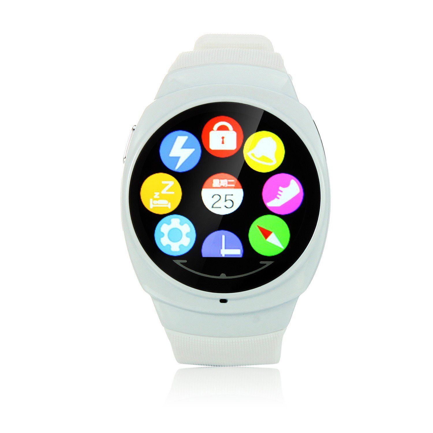 Uwatch UO 1.44 inch Touch Screen BT 4.0 Health Smart Watch
