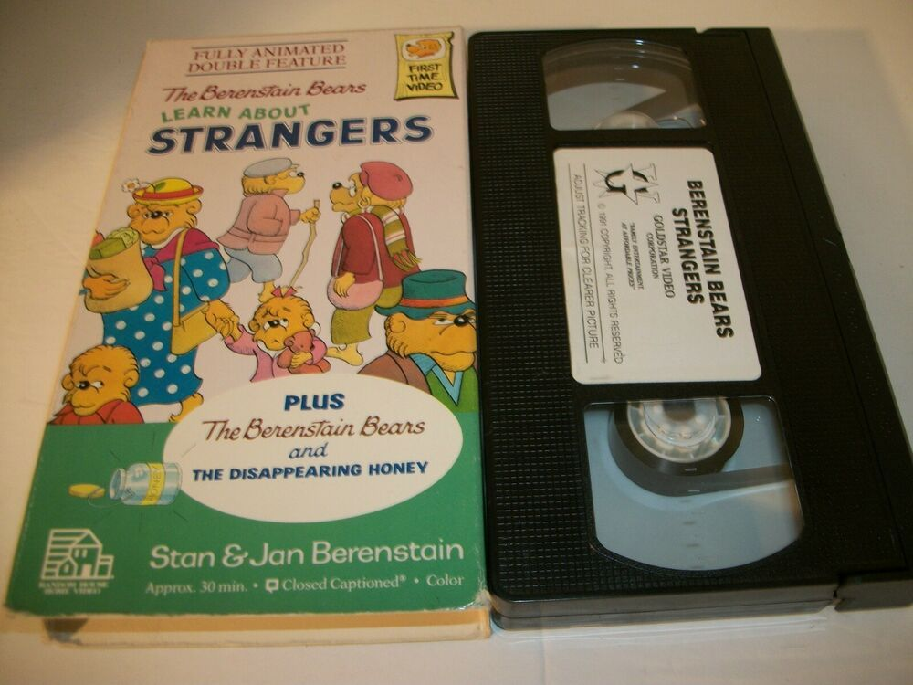 The Bbears Learn About Strangers By Random House Home Video Staff 1988 Video Learning Vhs Stranger