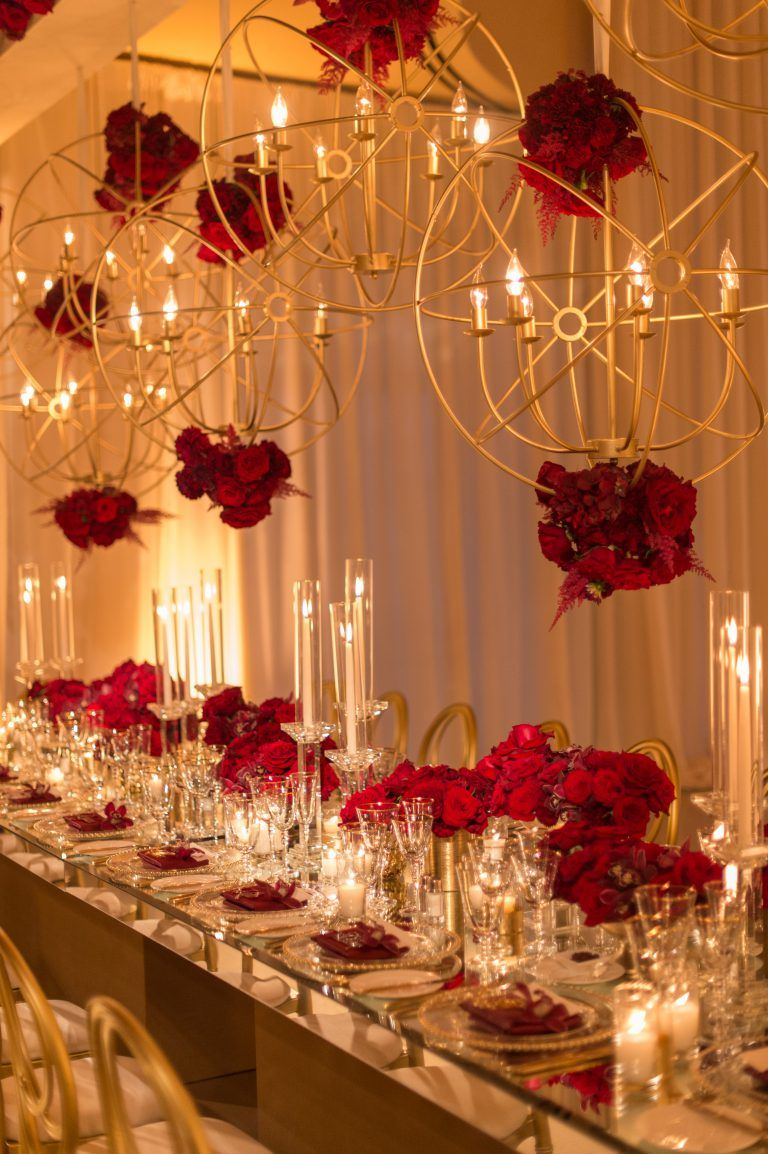Glam And Modern Wedding Event And Floral Design By