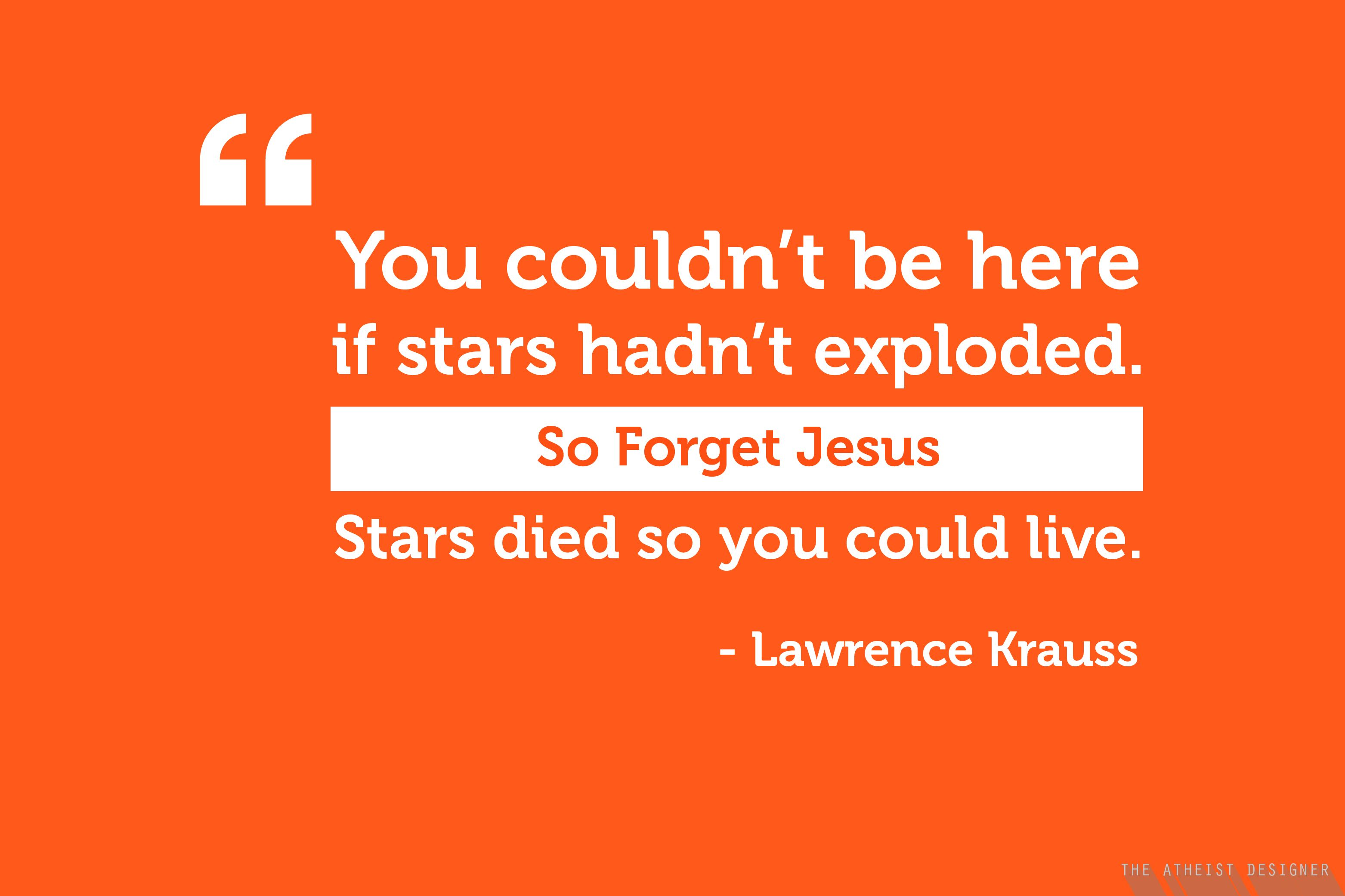 Pin by Atheist Designer on Quotes Lawrence krauss