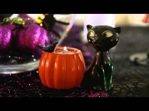 Spooky Halloween Home Decor Ideas Including Candles