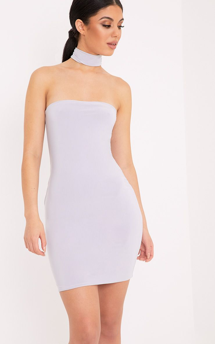 470f3f8e0f5a Gia Bandeau Bandage Midi Bodycon Dress at boohoo.com | Bodycon ...