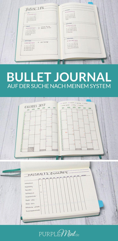 Bullet Journal - auf der Suche nach meinem System | Kalender ...