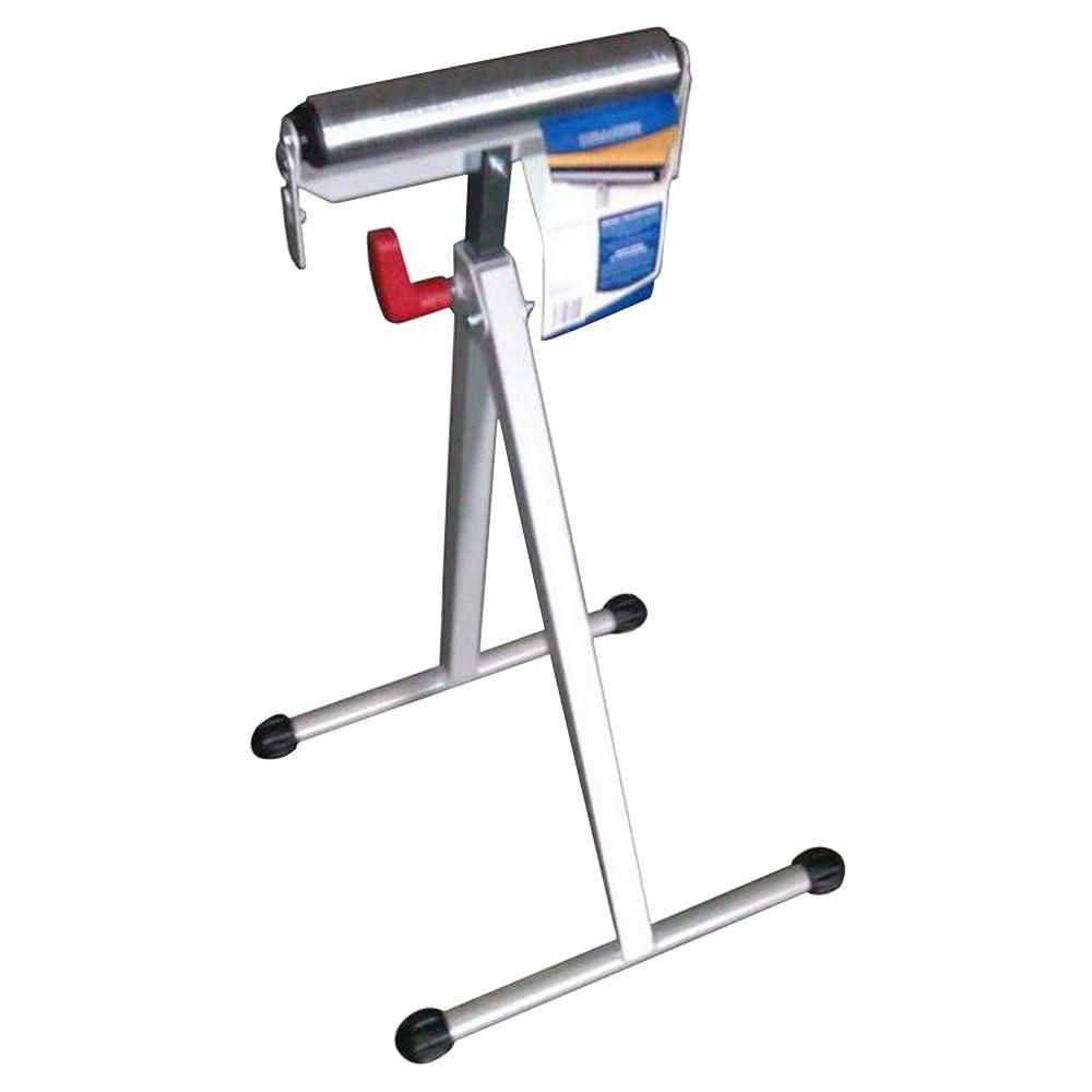 43 in. Steel Roller Stand with Edge Guide