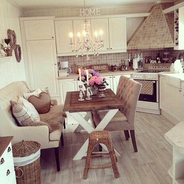 Beautiful kitchen, very peaceful and cosy