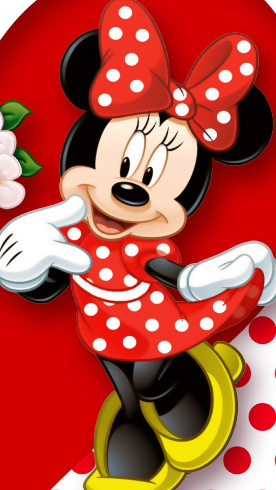 Walt Disney World Iphone Wallpaper Download Wallpaper 1080x1920 Minnie Mouse Mickey Mouse