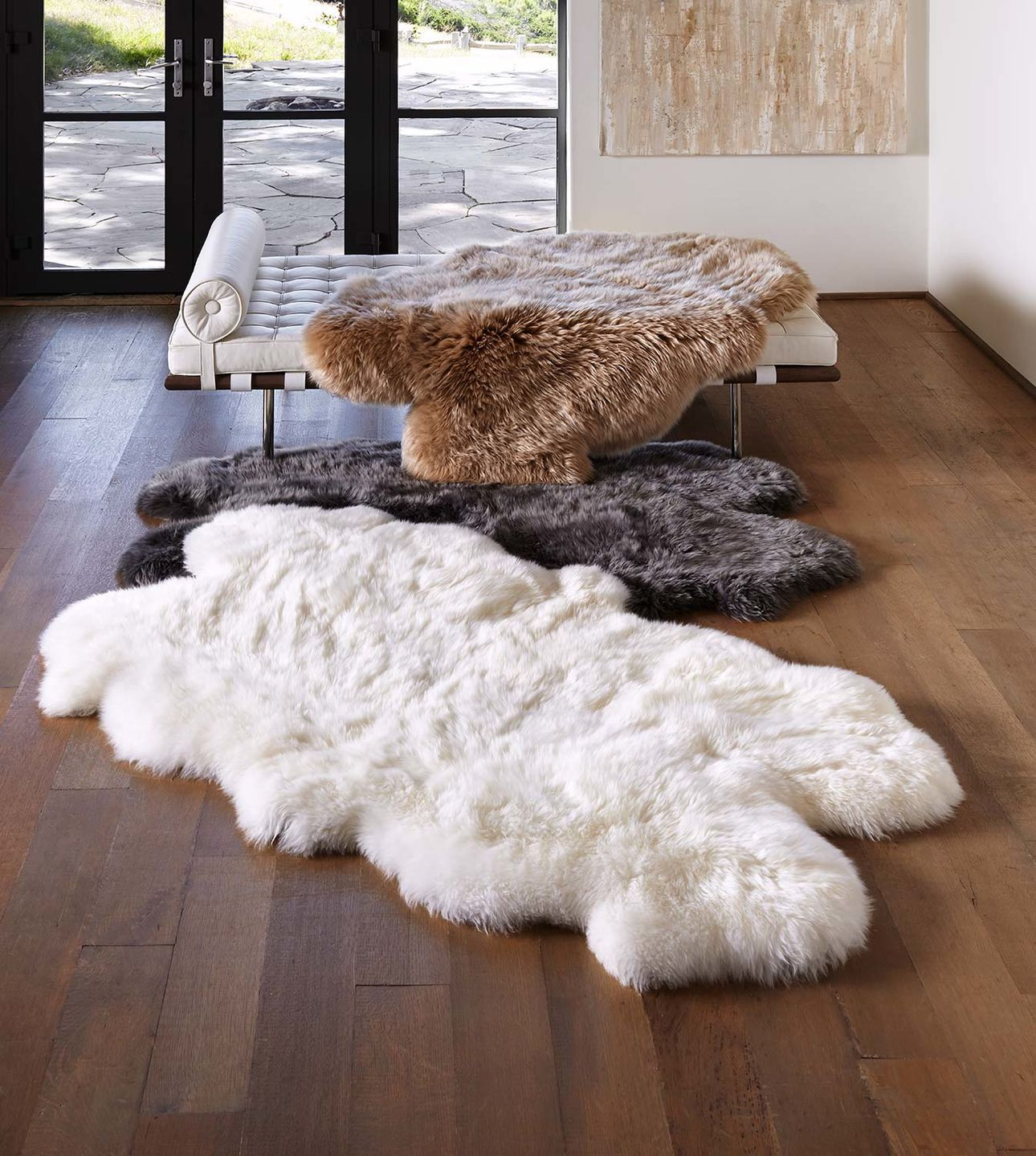 Our Collection Of Sheepskin Rugs