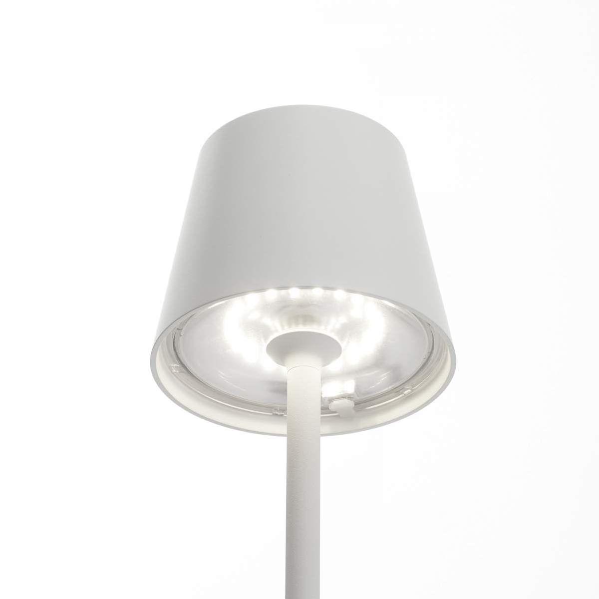 Led Erdspiessleuchte Poldina Mit Akku Weiss 135 Cm Led Led Tischlampe Und Led Hangeleuchte
