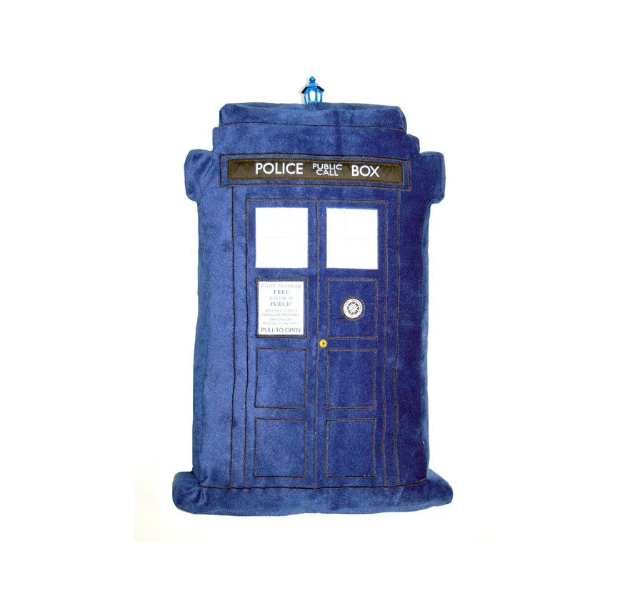 Doctor Who: TARDIS Light And  Sound Effects Pillow Enliven Your Decorating  Scheme