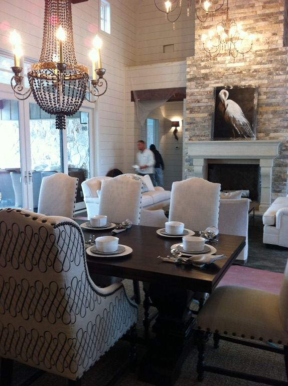 Heather Scott Southern Living Dining And Great Room Custom Furniture