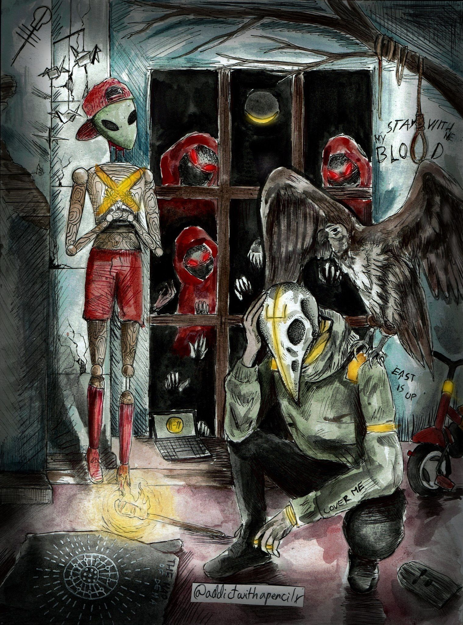 This was done by awapxart and is my favorite tøp fan art