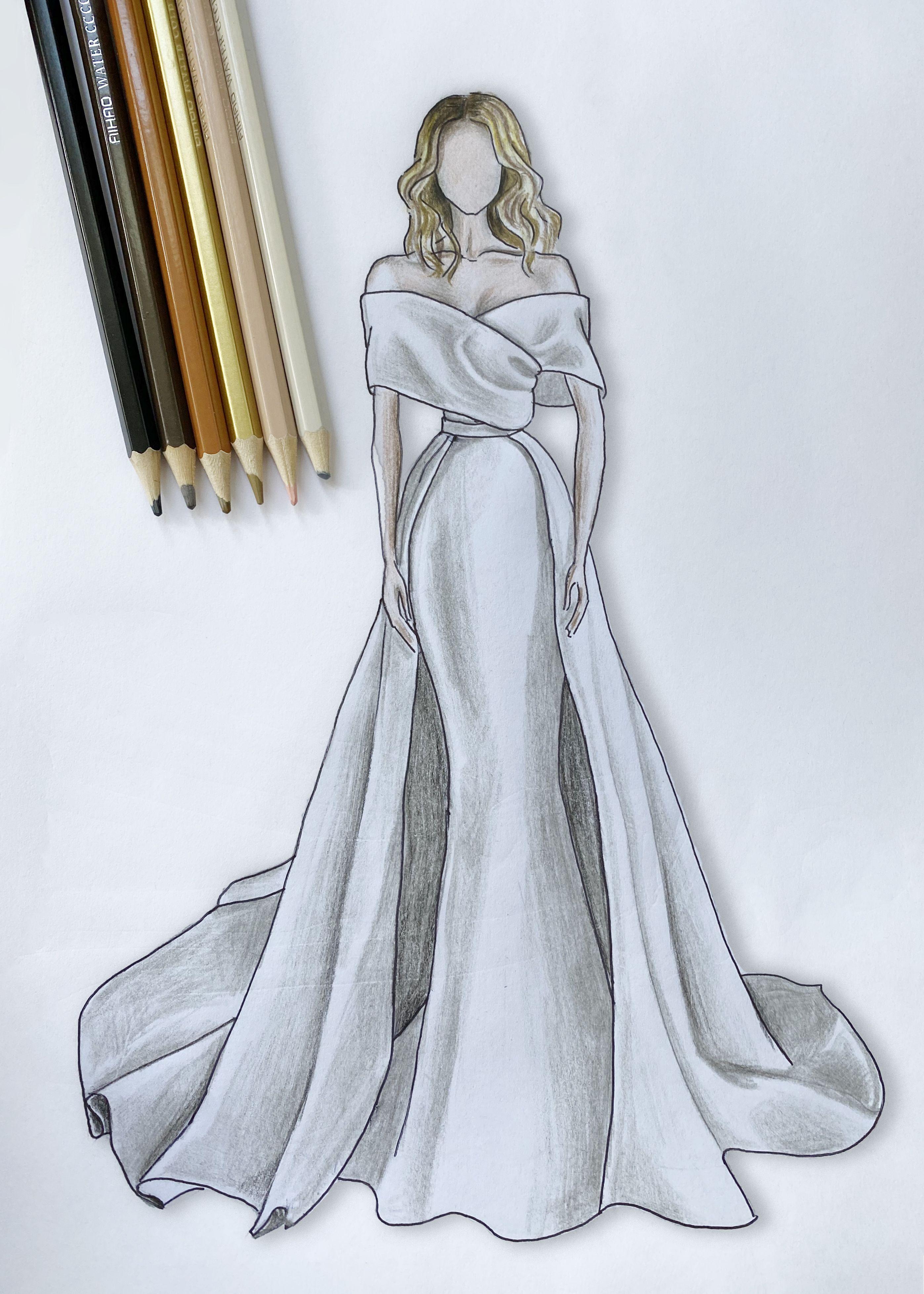 Gorgeous Stylish Wedding dress Formal wear, Mermai