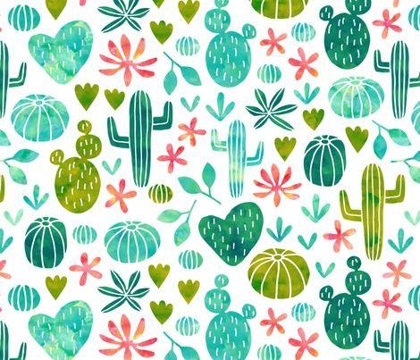 Spoonflower Fabric of the week voting: Spoonchallenge contest: watercolor