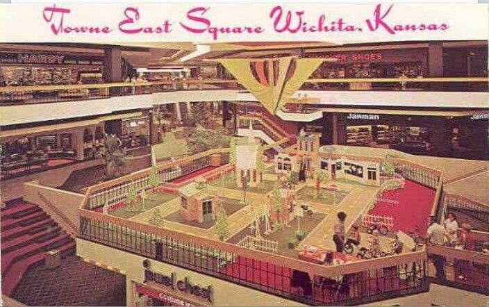 Towne East Square Wichita Ks 1980 Kake Kaleidoscope Used To