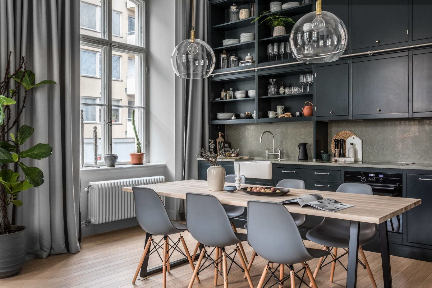 Apartment in Stockholm by Balthaz Interior Kjøkken Pinterest
