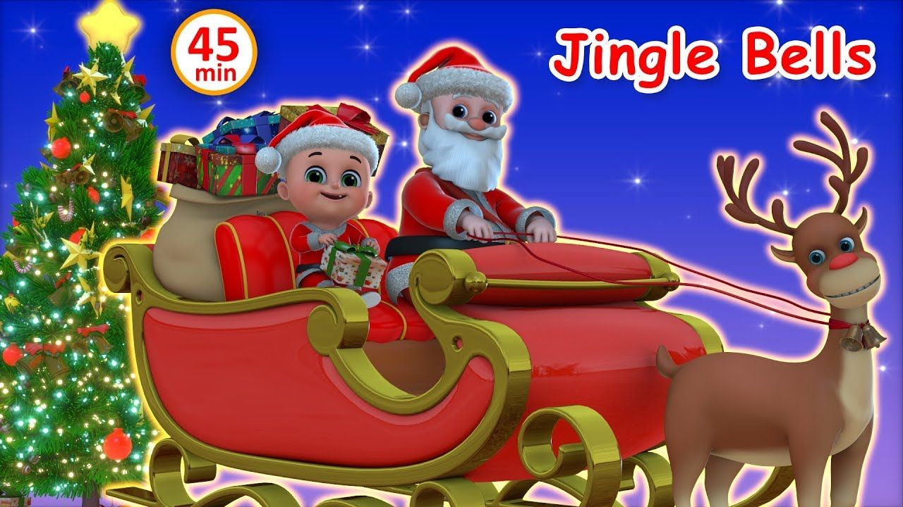 Jingle Bells Songs For Children Christmas Carol Collection Nursery Rhy Kids Nursery Rhymes Kids Songs Nursery Rhymes