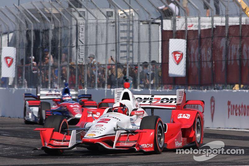 Juan Pablo Montoya, Team Penske Chevrolet Indy cars