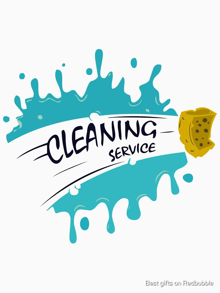 Cleaning Service T Shirt By Ebroofficial Redbubble Negocio De Limpieza Articulos De Limpieza Servicio De Limpieza