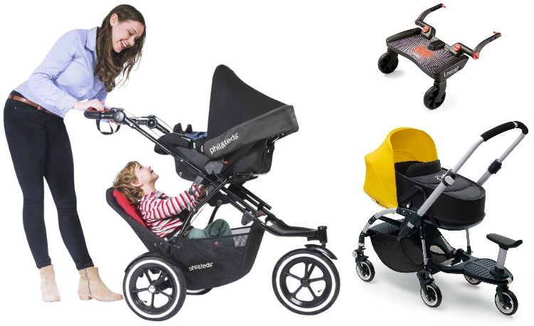 5 Easy Alternatives to a Double Stroller - Project Nursery | Best double stroller, Double stroller for twins, Double strollers