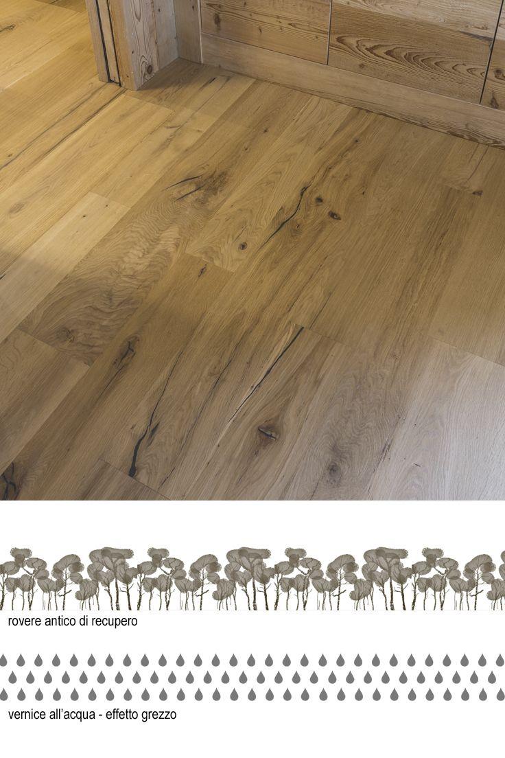 Parquet In Legno Duro pavimenti in legno antico rovere effetto grezzo #oldwood