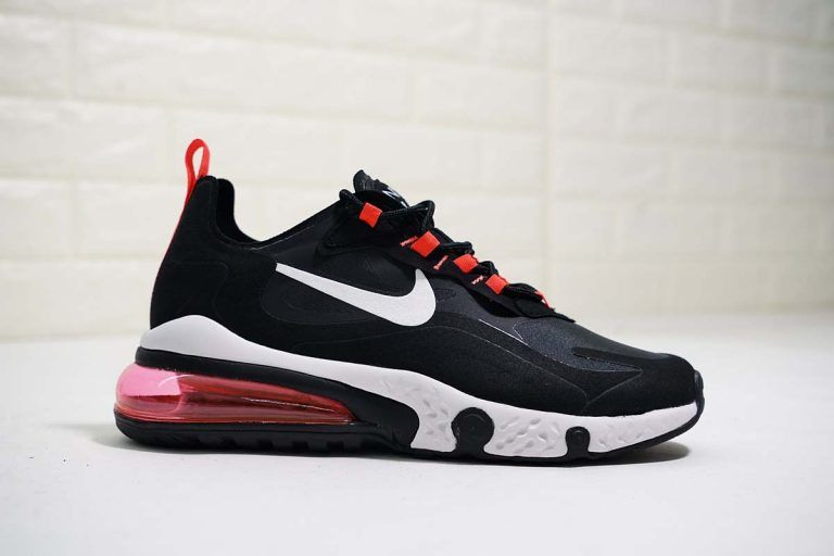 Mens Air Max 270 React Element 87 Black Red Zapatillas Sneakers Zapatillas Compras
