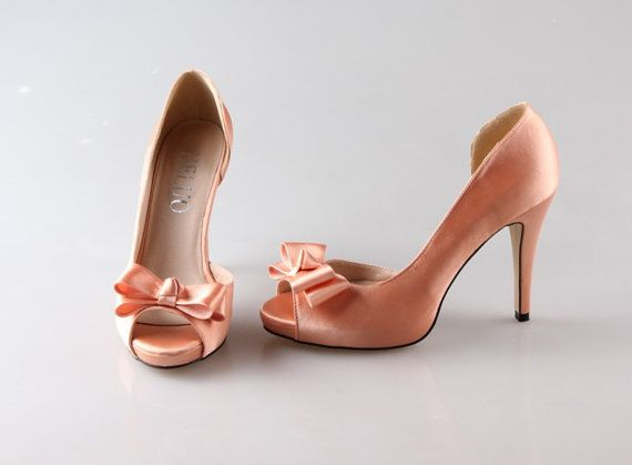 Hey, I found this really awesome Etsy listing at https://www.etsy.com/listing/189810643/peachy-party-shoes-unique-prom