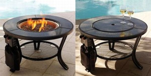 10 Trendy Outdoor Fire Pits For Your Terrace Or Garden Hometone Propane Fire Pit Table Fire Pit Table Small Fire Pit
