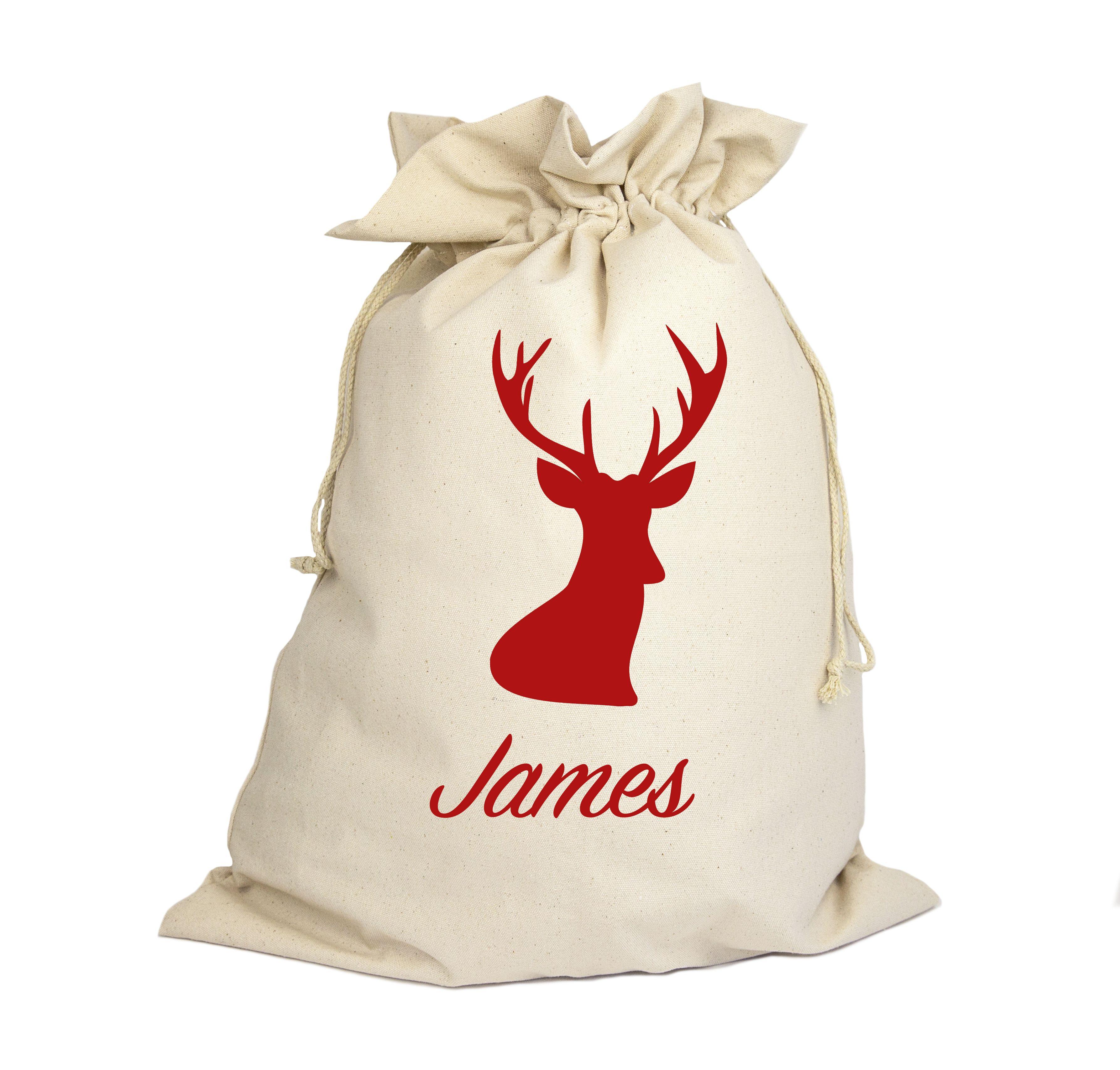 Pet Cushion Cover Personalised santa sacks, Personalized