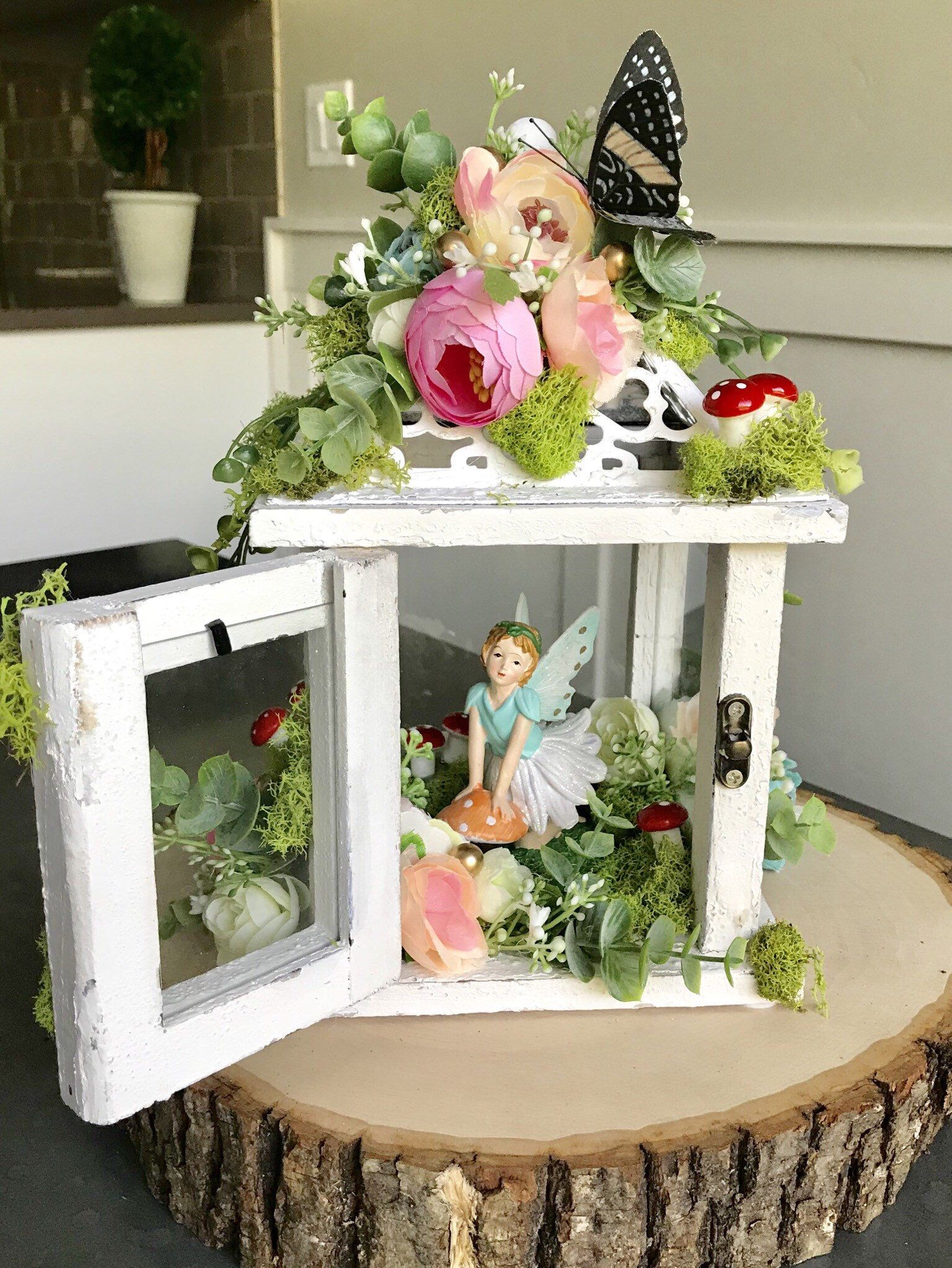 Enchanted Fairy Lantern Centerpiece Pow Wow Wedddingtea Party
