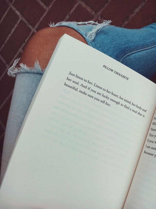 Pillow Thoughts by Courtney Peppernell