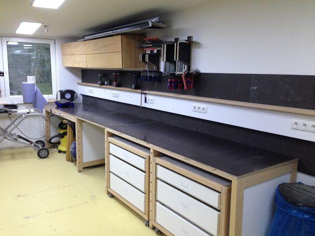 einrichtung neubau werkstatt seite 2 woodworker werkstatt pinterest neubau werkstatt. Black Bedroom Furniture Sets. Home Design Ideas