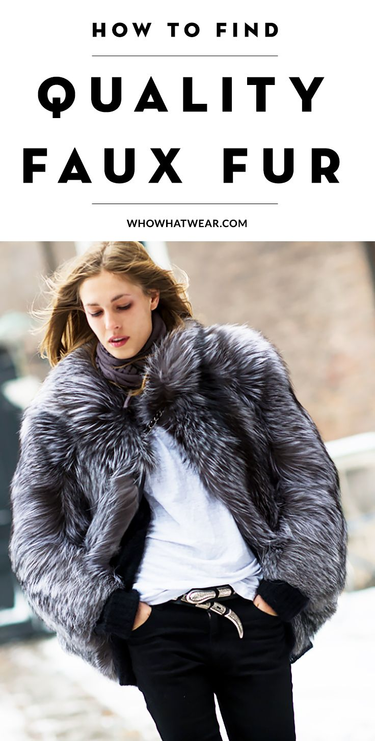 8469e63dc40 Your ultimate guide to finding quality faux fur with 3 genius tricks + the  best ones to shop now