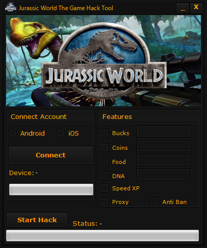 No Survey Jurassic World The Game Hack 2018 Updated Generator For