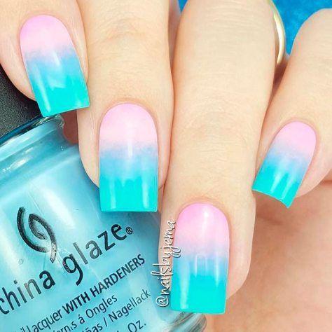 BEAUTIFUL Aqua Nails Designs You'll Want To Try - BEAUTIFUL Aqua Nails Designs You'll Want To Try Nails!!! Nail