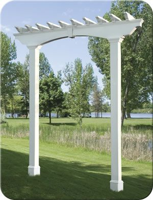 Pergola Arch| Fence-All | makes my heart happy | Vinyl
