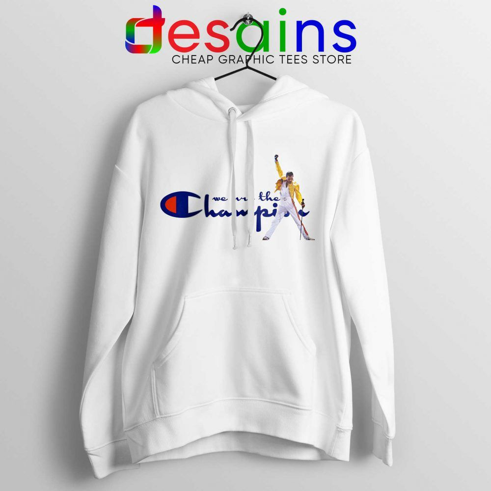 62841d934fd Hoodie Fredy Mercury We are the Champion Queen Concert Size S-3XL   Price    36.00 Cheap Graphic Tee Shirts     Desains  Tees  Shirt  Dress