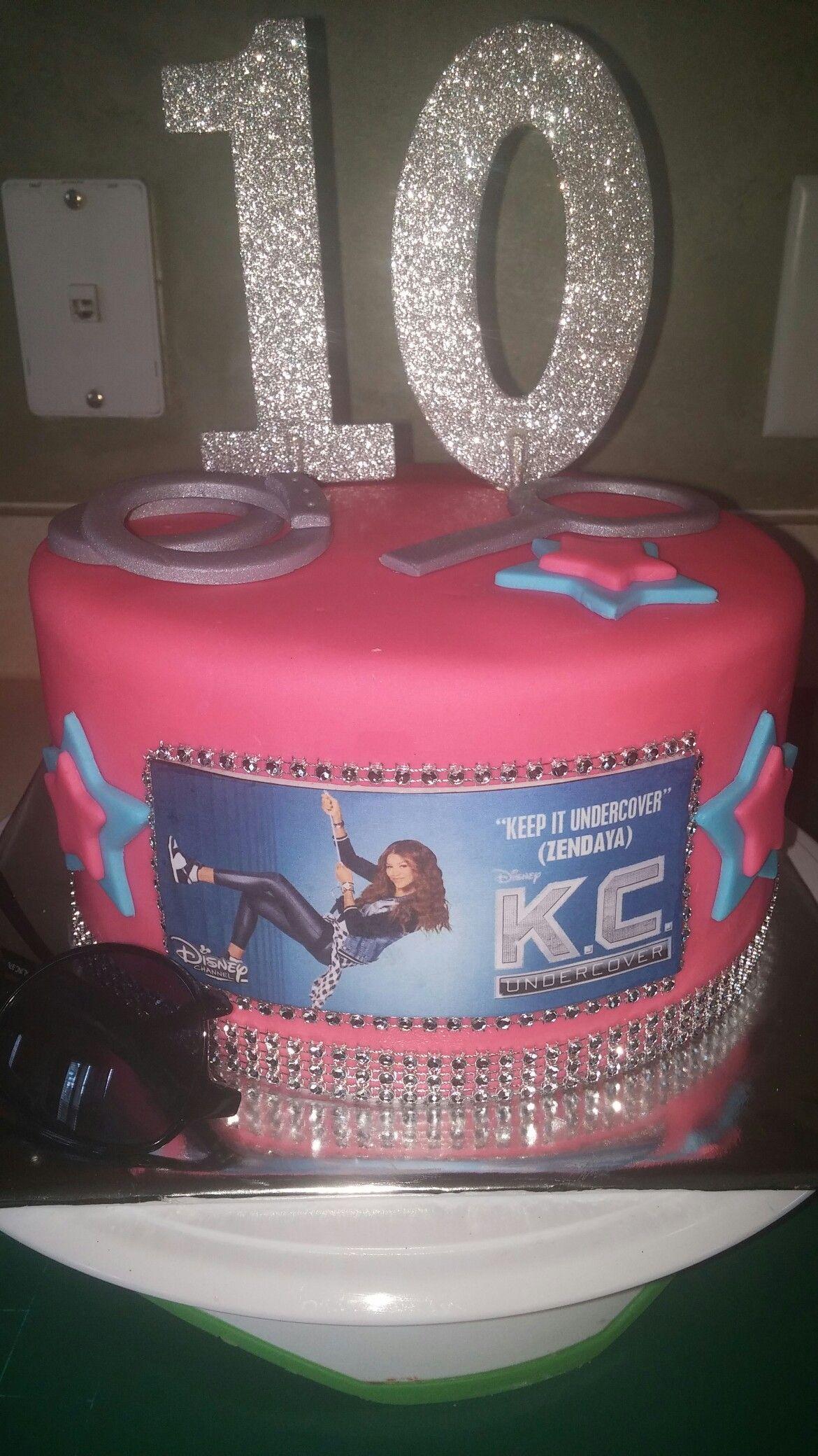 Kc Undercover Cake Sanaa S 11th Birthday Party Pinterest