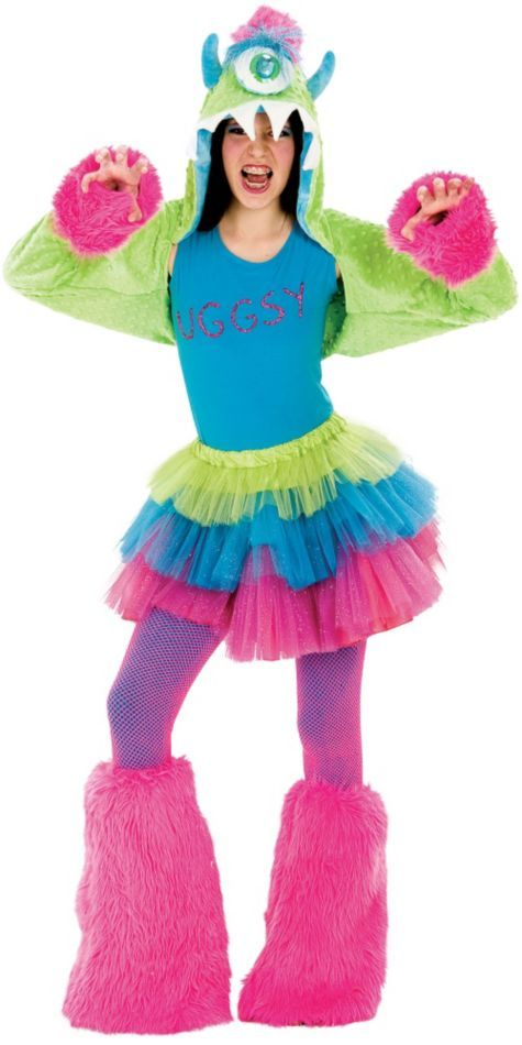 Tween Uggsy Costume Deluxe - Party City | halloween | Pinterest ...