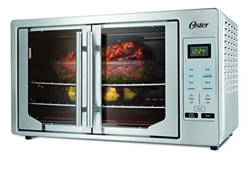 Oster Tssttvfddg Digital French Door Oven Stainless Steel Voila Dinner S Done The Oster Digital Fr French Door