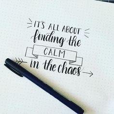 Para encontrar la paz primero tienes que buscar en el caos