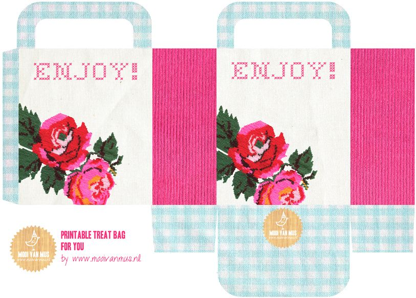 Free printable treat bag for you by Mooi van Mus