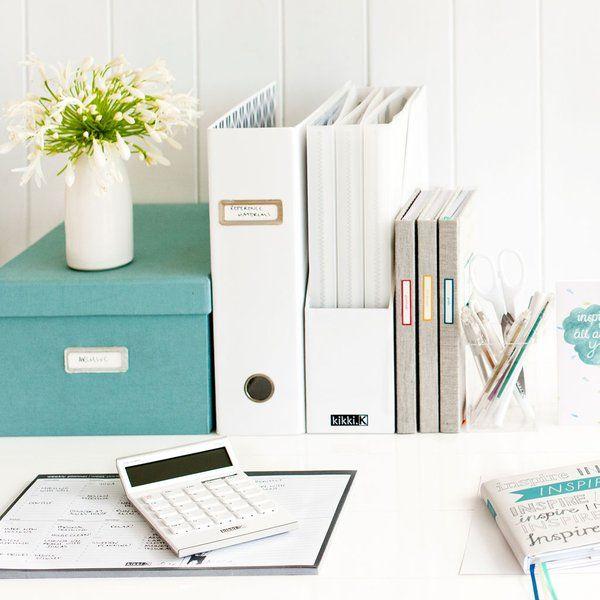 Kikki.K desk storage