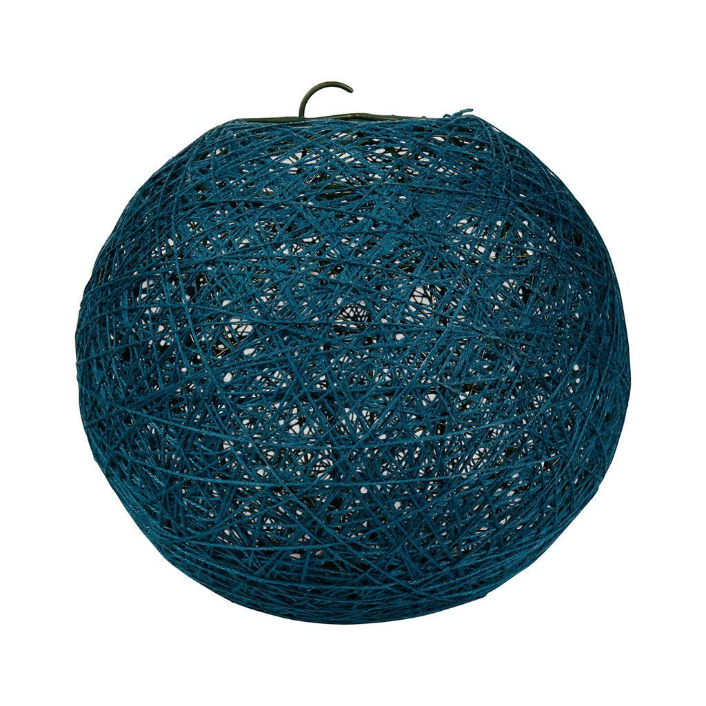 Suspension Bleu Canard Suspension Boule Bleu Canard D 20cm Home Decor