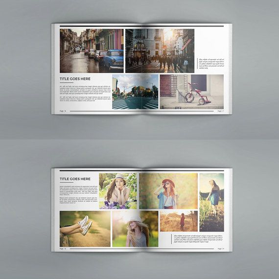 Portfolio Brochure Multipurpose Square Brochure Template Design
