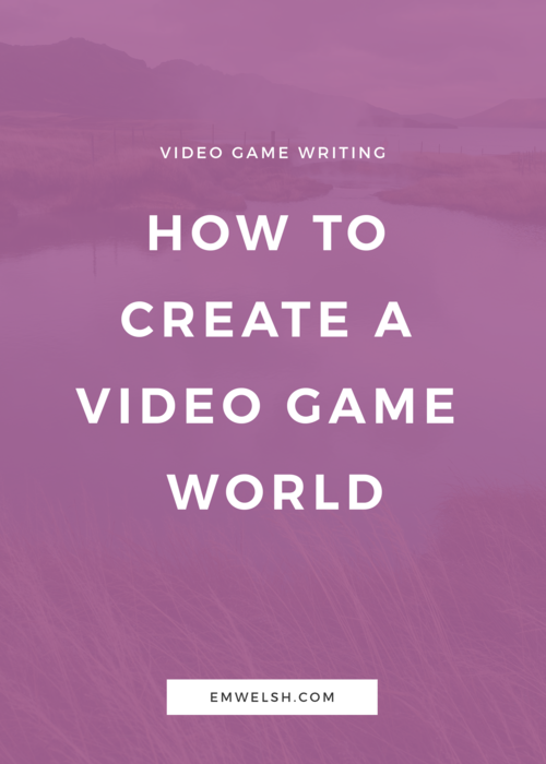 How to Write Video Game Characters | Gaming | Video game